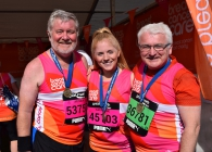 Great North Run with Breast Cancer Care
