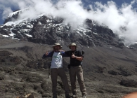 Trekkers on Mount Kilimanjaro for Breast Cancer Care