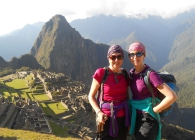 Trekkers in the Peru for Breast Cancer Care