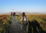 Funraisers treking the three peaks
