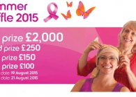 This is a promotion of The Breast Cancer Care Northern Ireland Summer Raffle. You can win £2000
