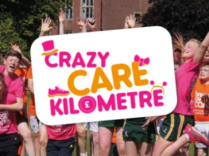Crazy Care Kilometre logo