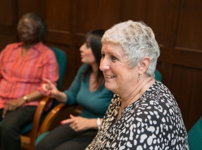 Women attend one of Breast Cancer Care's Moving Forward workshops