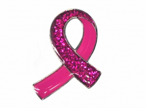 A Breast Cancer Care brooch
