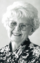 This is a picture of Betty Westgate, the founder of Breast Cancer Care