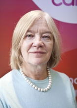 Dr Alison Jones is a Breast Cancer Care Trustee