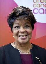 Sybil Roach-Tennant is a Breast Cancer Care Trustee