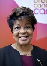 Sybil Roach-Tennant is a Breast Cancer Care Trustee