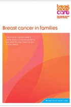 breast cancer in families cover