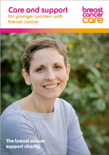Care and support for younger women with breast cancer information booklet