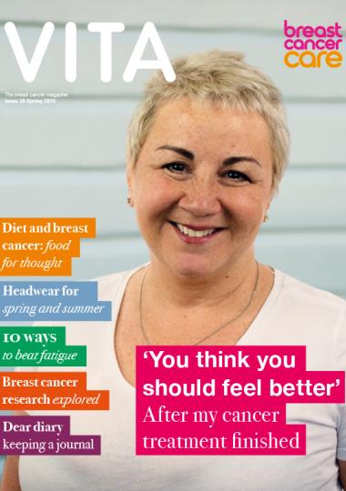 cover image of Vita magazine spring 2019 issue